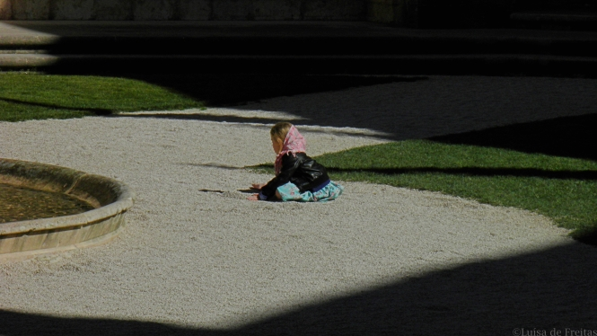 the child will disappear in the shades